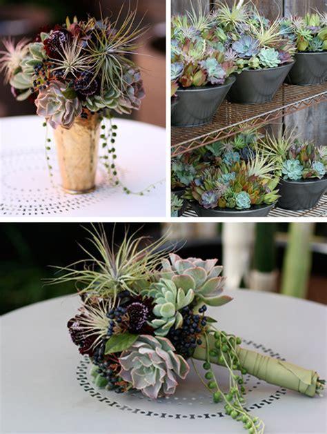 Succulents   Wedding Decor   Primadonna Bride