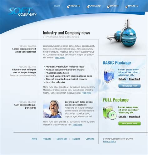 Download Courier Company Website Template Free Courier Website Template