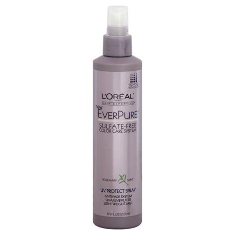L Oreal Uv l oreal everpure uv protect spray rosemary mint 8 5 fl oz 250 ml hair care
