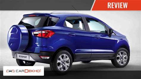 price of ford ecosport diesel in india your ford ecosport review of features cardekho