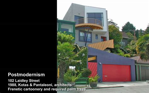 styles of architecture postmodernism san francisco residential architectural