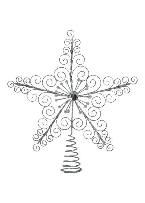 matalan glitter star shaped christmas tree topper 163 4 00