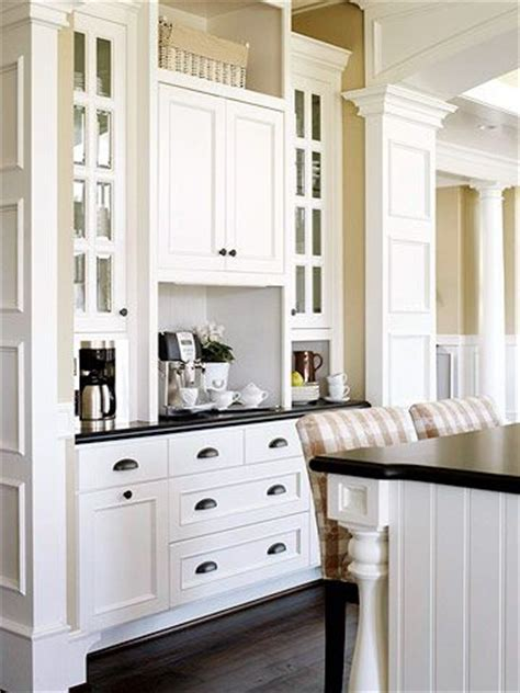 built in coffee bar coffee stations worthy of a barista s dreams cabinets