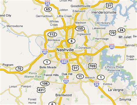 map of nashville nashville davidson metro map map travel holidaymapq