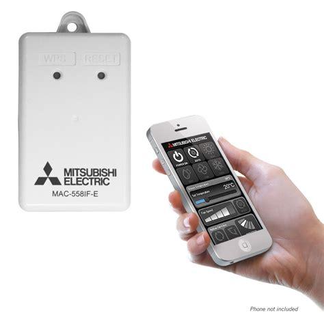 Air Wifi mitsubishi electric mac 559if e wifi interface adapter air conditioning