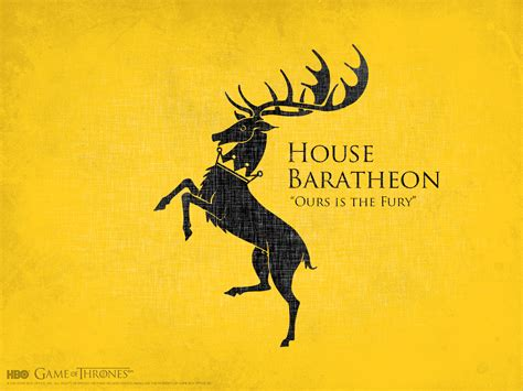 House Baratheon Game Of Thrones Wallpaper 21729434 Fanpop