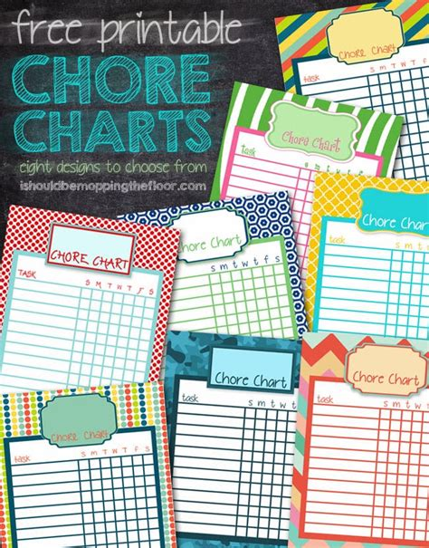 i should be mopping the floor free printable ultimate i should be mopping the floor free printable chore charts
