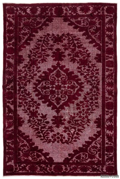 dyed rugs k0015915 carved dyed rug