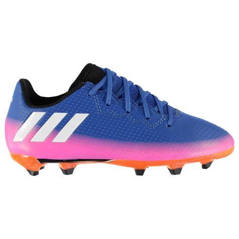messi football boots adidas adidas messi 16 3 fg childrens football boots