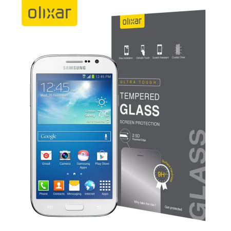 Tempered Glass Grand Neo Plus olixar samsung galaxy grand neo tempered glass screen protector