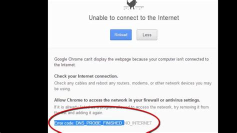 chrome no internet connection how to fix quot dns probe finished no internet quot unable to