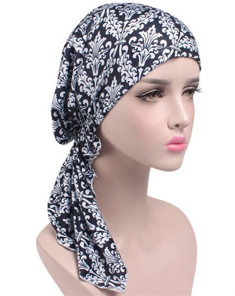 new scarf chemo hat turban pre headwear