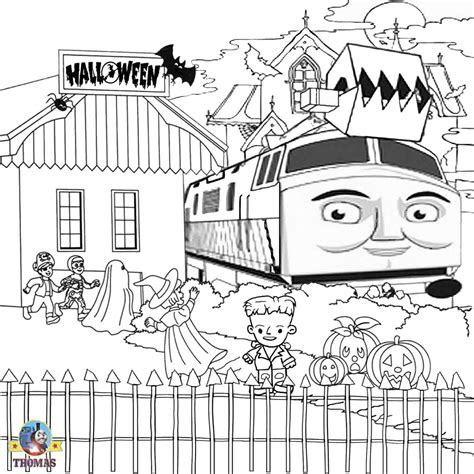 Thomas The Tank Engine The Tank Engine Colouring Pictures To Print
