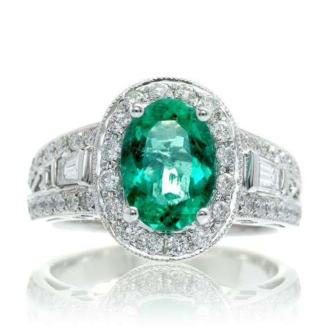 Emerald Engagement Rings by 33 Amazing Vintage Emerald Engagement Ring Eternity Jewelry