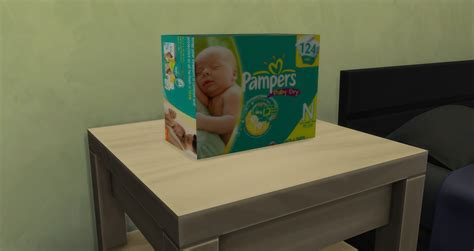 sims 4 babies diaper my sims 4 blog big box of diapers by cutestuffgaming