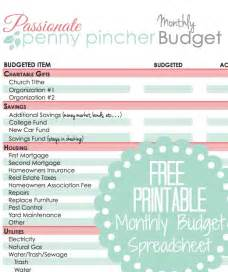 Free Monthly Budget Templates Printable Free Guide To Budgeting From Dave Ramsey Passionate