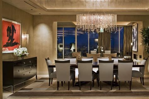 Modern Dining Room Lighting Imposing Chandeliers That Aren T Just For Show