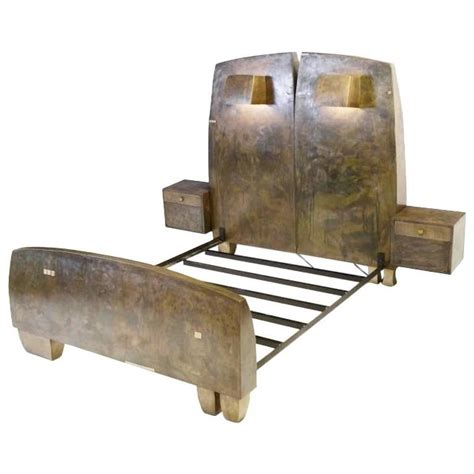 Bronze Bed Frame Sculptural Bronze Bed By Gary Magakis For Sale At 1stdibs