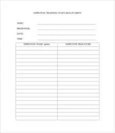 Employee Sign In Sheet Template Free by Employee Sign In Sheet Template 11 Free Pdf Documents