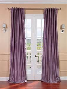 Plum Faux Silk Curtains Smokey Plum Vintage Textured Faux Dupioni Silk Curtain Contemporary Curtains San Francisco