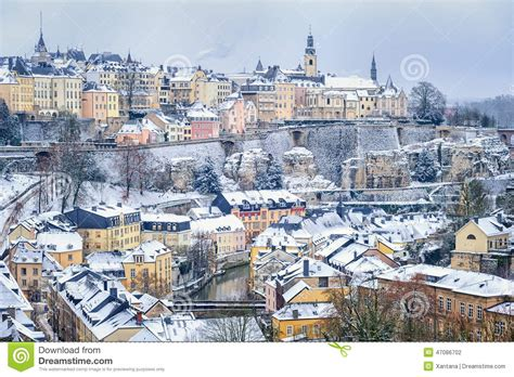 Lu City Z luxembourg downtown stock photo image 47086702