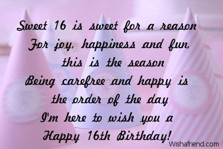 Quotes For Sixteenth Birthday Happy Sweet 16 Quotes Quotesgram