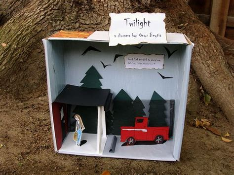 diorama book report twilight diorama 5th grade book report by tresijas via