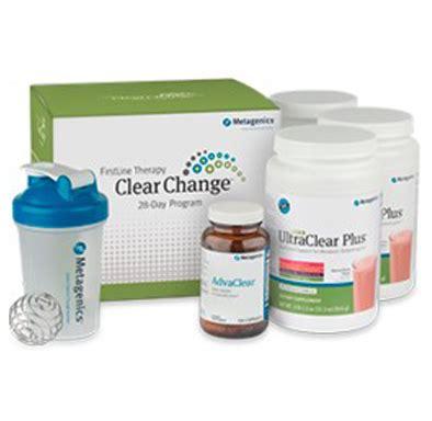 Metagenics Metabolic Detox Program by Metagenics Clear Change 28 Day Detox Program With
