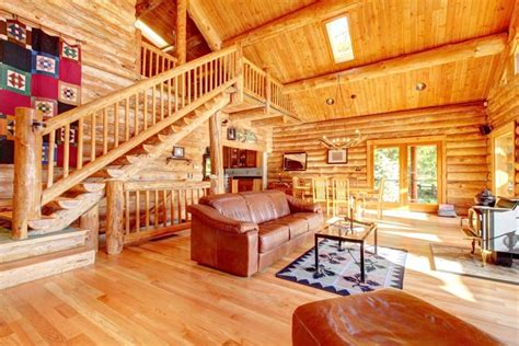 modern log home interiors 52 luxury log homes great pictures