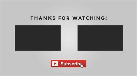 free outro template free graphics after effects animated outro template with