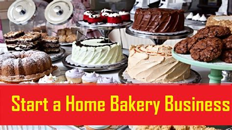 how to start a home bakery