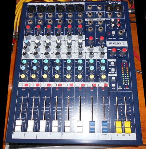 Soundcraft Epm 6 soundcraft epm6 image 720880 audiofanzine
