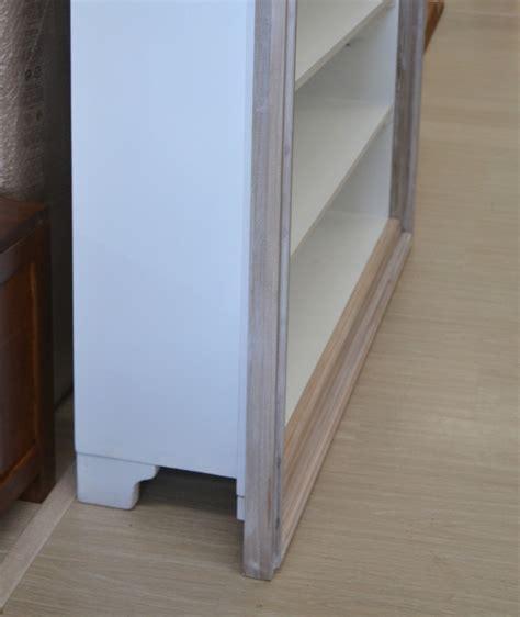 librerie provenzali bianche libreria legno shabby chic librerie bianche