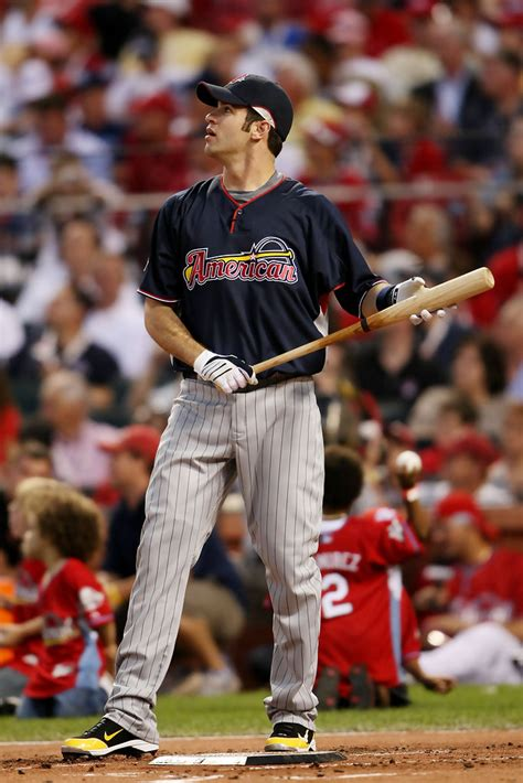 joe mauer in state farm home run derby zimbio
