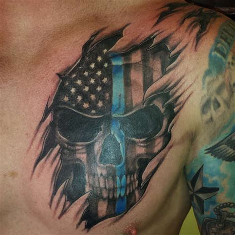 police tattoo ideas 114 craziest and ultimate guys tattoos