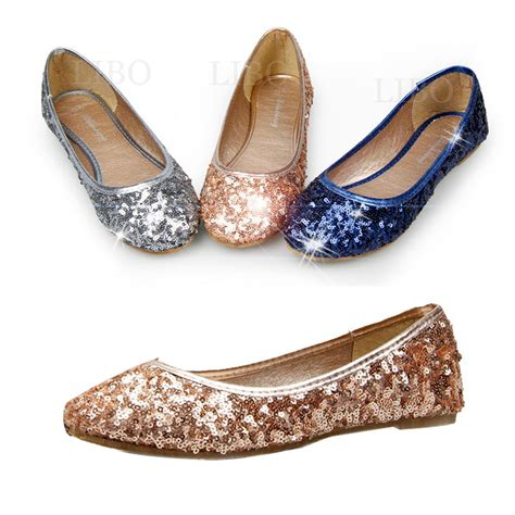 sparkly ballet slippers aliexpress buy 2015 casual fashion