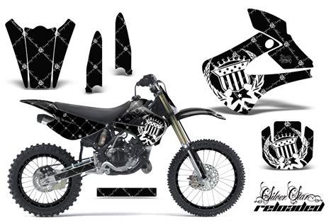 Monster Energy Aufkleber Chrom by Kawasaki Kx85 Kx100 2001 2013 Graphics Kit