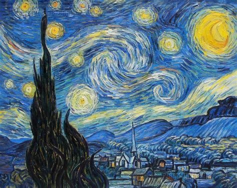 starry night painting page 2