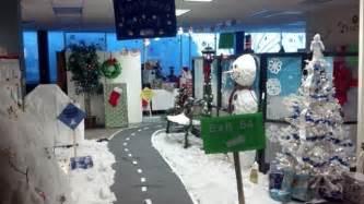 christmas office cubicle decorations designcorner