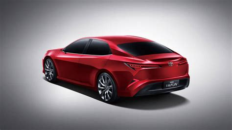 Toyota Concept Toyota Sedan Concept Revealed Could Be China S Camry