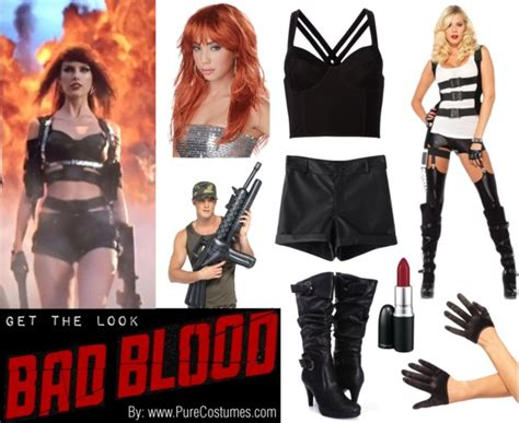 taylor swift bad blood costumes diy taylor swift s bad blood costume