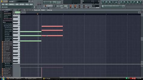 fruit 9 studio fl studio tutorial how to create chords for a song