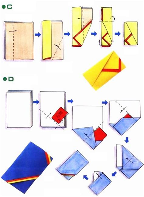How To Make An Envelope Out Of Construction Paper - origami d enveloppe f 234 te