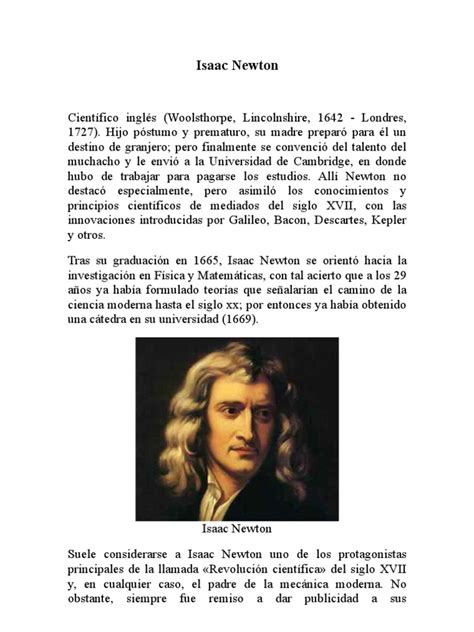 isaac newton biography pdf free download in hindi isaac newton