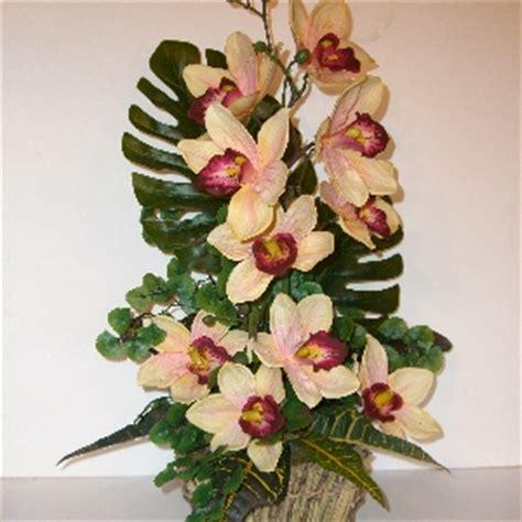 orchidea fiori secchi composizioni fiori secchi e seta composizione fiori seta