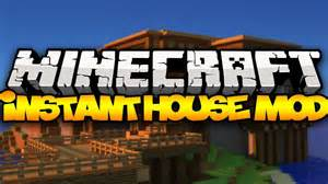 Mod Hous minecraft instant houses tents houses castles amp more