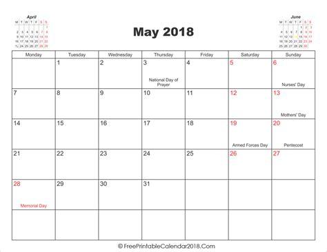 may 2018 calendar may 2018 calendar templates