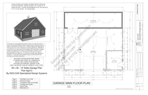 house construction plans download free sle barn workshop plans g314 36 x 36