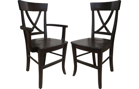 X Back x back chairs black chairs seating