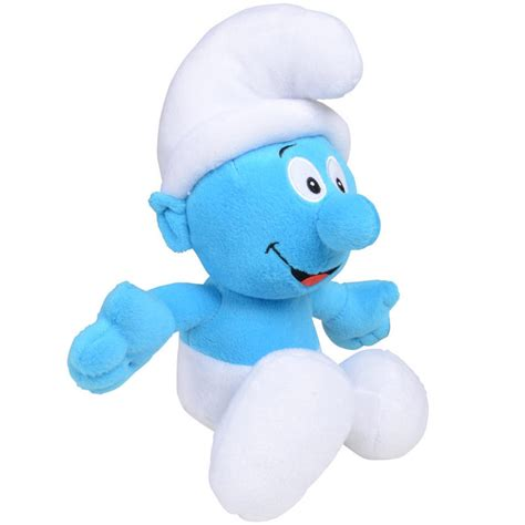 the smurfs 36cm 14 quot soft plush cuddly stuffed toy
